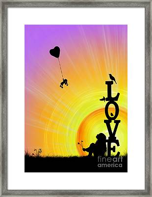 Inner Child Framed Print by Tim Gainey