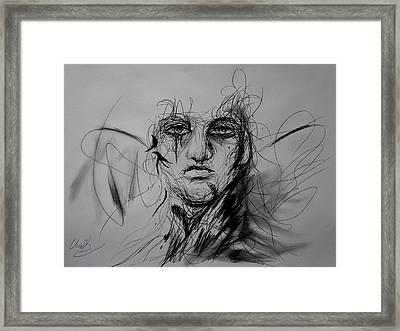 Inner Demons Framed Print by Christopher Kyle