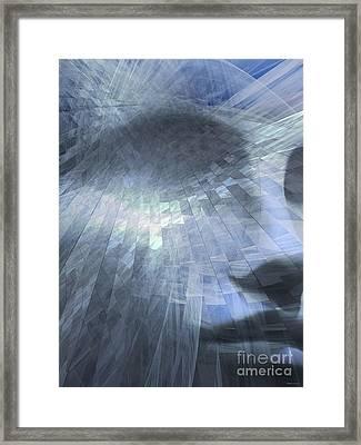 Inner Dialog  Framed Print by Elizabeth McTaggart