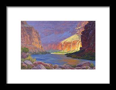Canyon Framed Prints