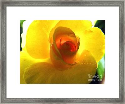 Inner Glow Framed Print