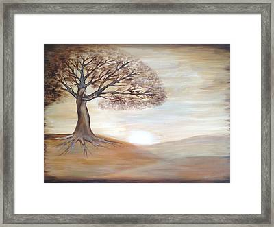 Framed Print featuring the painting Inner Goddess by Agata Lindquist
