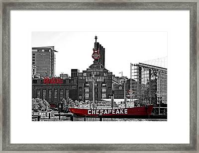 Inner Harbor Framed Print