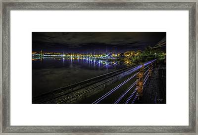 Inner Harbor Dreaming Framed Print by Everet Regal