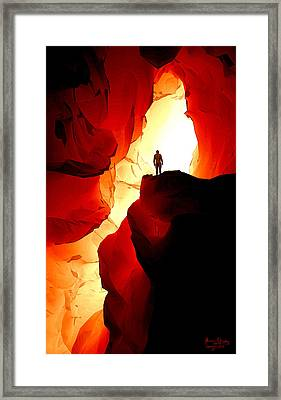 Inner Light Framed Print by Matt Lindley