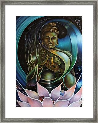 Inner Peace Framed Print by Jessica  Venzor