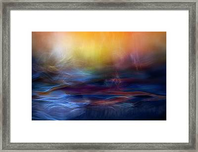 Inner Peace Framed Print by Willy Marthinussen