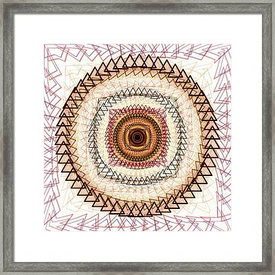Inner Purpose Framed Print by Anastasiya Malakhova