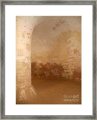 Inner Recesses Framed Print by Lauren Leigh Hunter Fine Art Photography