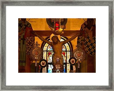 Inner Sanctum Framed Print by David Lee Thompson
