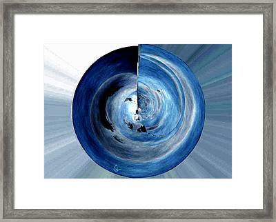 Inner Soul Circle Works   Framed Print by Colette V Hera  Guggenheim