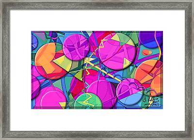 Inner Space Framed Print by Gerry Robins