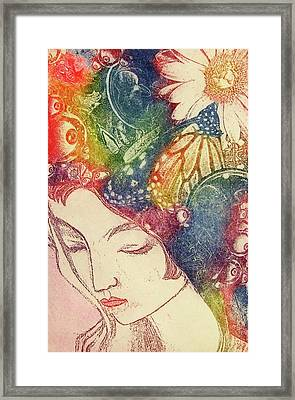 Inner Thoughts Framed Print