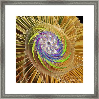 Inner Twister Framed Print