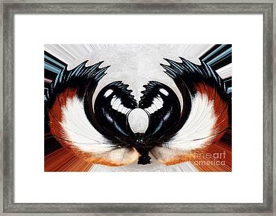 Inner Web Framed Print