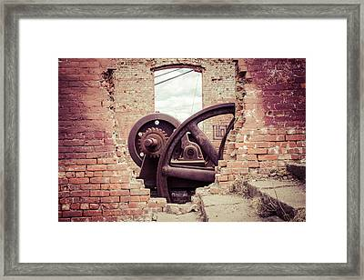 Inner Workings Framed Print