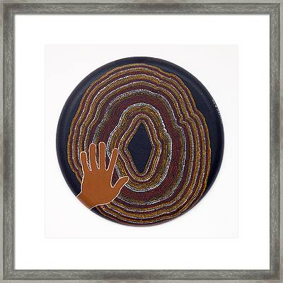 Inner Worlds Framed Print