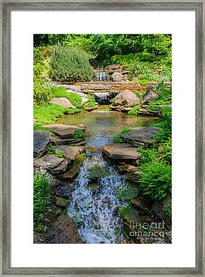 Inniswood Metro Park Photo Framed Print