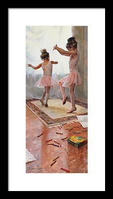 Prima Ballerina Framed Prints
