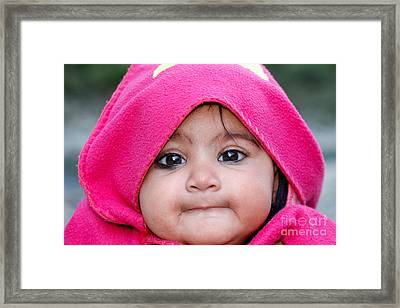 Framed Print featuring the photograph Innocence by Fotosas Photography