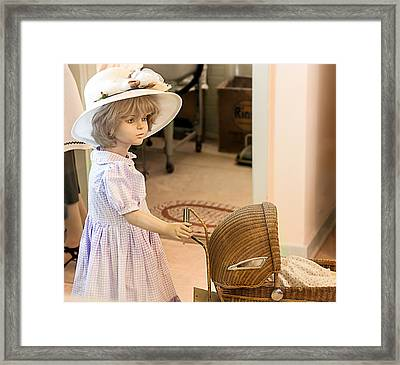 Innocence Framed Print by Gunter Nezhoda