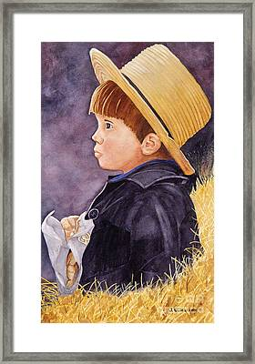 Innocence Framed Print by John W Walker