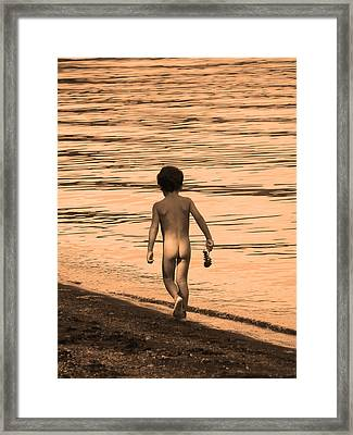 Innocence Framed Print by Marcia Socolik