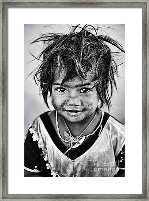 Innocence Framed Print by Tim Gainey
