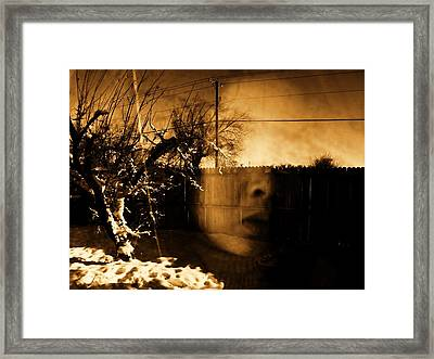 Framed Print featuring the photograph Innocents Reflection  by Jessica Shelton