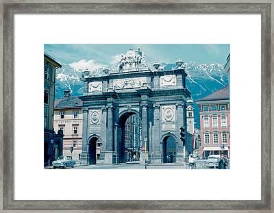 Innsbruck Austria 1962 Framed Print by Cumberland Warden