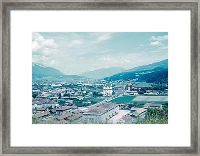 Innsbruck Austria 4 1962 Framed Print by Cumberland Warden