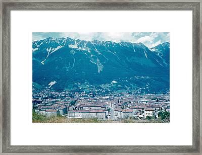 Innsbruck Austria 6 1962 Framed Print by Cumberland Warden