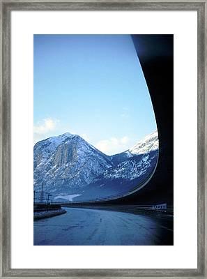 Innsbruck's Mountains Framed Print