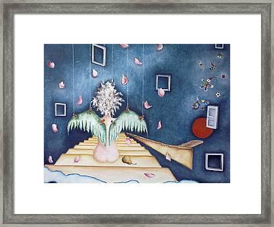 Inocencia Momentanea Framed Print by Belen Jauregui