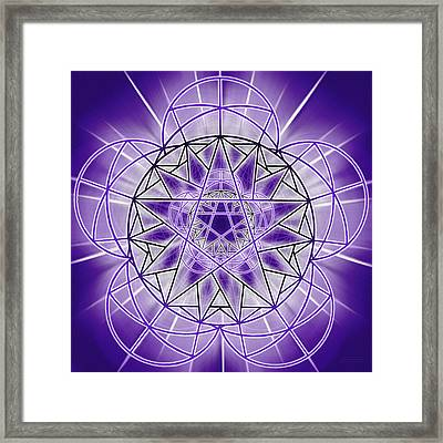 In'phi'nity Star-map Framed Print
