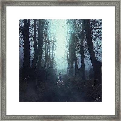 Insane Framed Print by Cesar Adrian