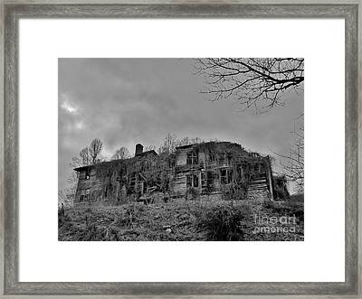 Insanity On The Hill Framed Print