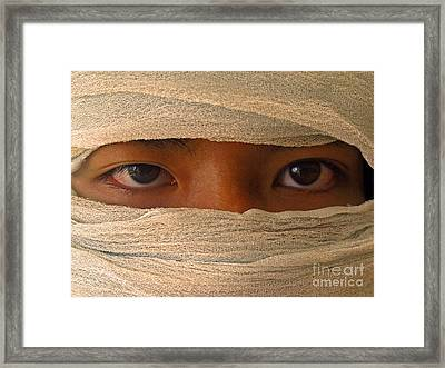 Inscrutable Framed Print by Ranjini Kandasamy