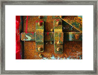 Insecurity Framed Print by Lauren Leigh Hunter Fine Art Photography