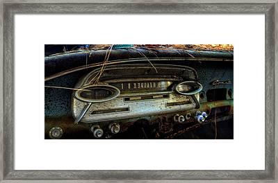 Inside A Comet Framed Print by Greg Mimbs