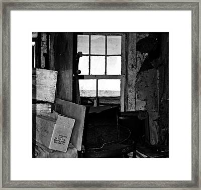 Inside Abandonment 2 Framed Print by Tara Lynn