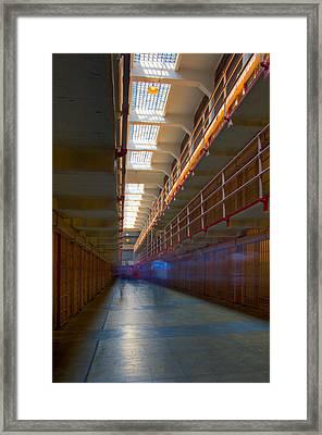 Inside Alcatraz Framed Print by James O Thompson