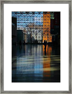 Inside And Out Framed Print by Diana Angstadt