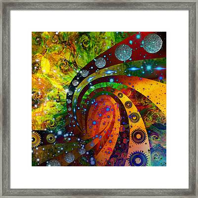 Inside Consciousness  Framed Print