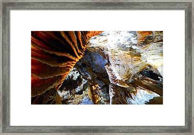 Framed Print featuring the photograph Inside Earth I by Sandro Rossi