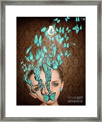 Inside Her Head Framed Print by Juli Scalzi