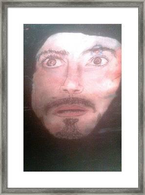 Inside Ironman Framed Print by Corey Hopper