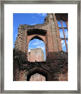 Inside Leicester's Building Framed Print