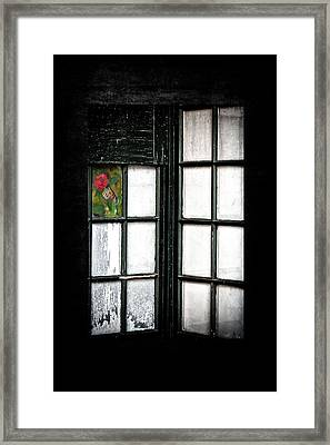 Inside Looking Out Framed Print by Bobbi Feasel