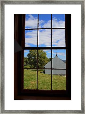 Framed Print featuring the photograph Inside Looking Out by Debra Kaye McKrill